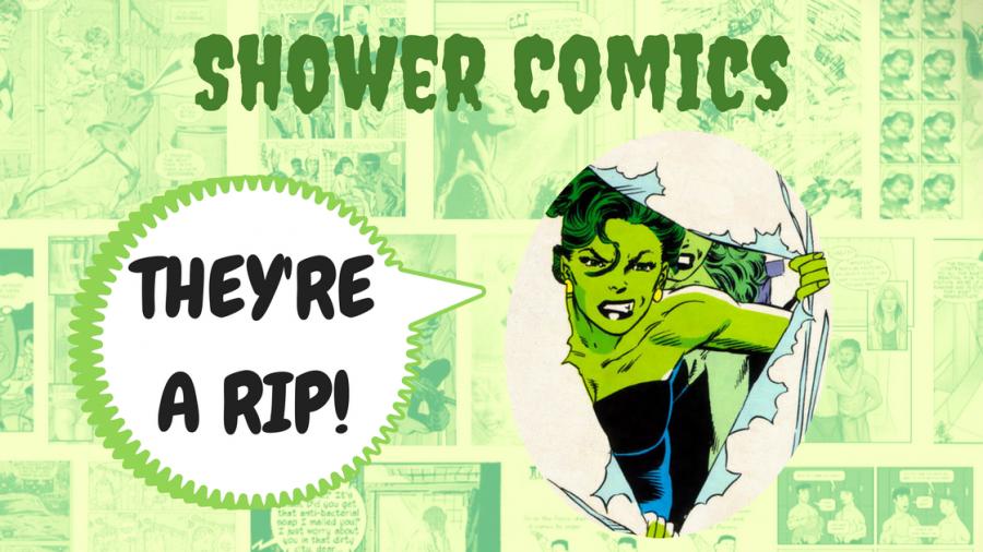 shower comics